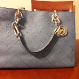 Michael Kors Bags - Medium Cynthia Quilted Saffiano Satchel